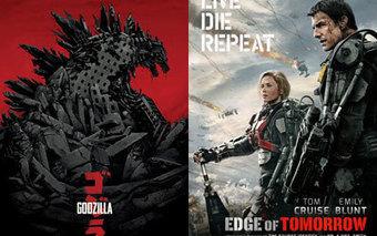 Preview très prometteur pour Godzilla et Edge of Tomorrow   Godzilla & Edge of Tomorrow Roadshow   Scoop.it