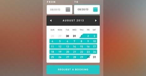 10 beautiful booking form design inspirations | Design Ideas | Scoop.it