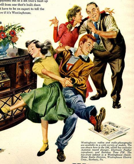 vintage swing dance 1948 advertisement radio westinghouse   Vintage  Of Times Gone By...   Scoop.it
