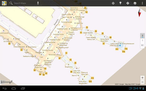 Google Maps 6.0 includes indoor mapping of Macy's, IKEA, airports | Little things about tech | Scoop.it