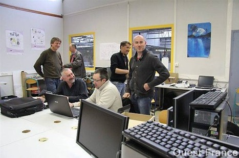 L'atelier participatif Fablab rentre au lycée - maville.com | actions de concertation citoyenne | Scoop.it