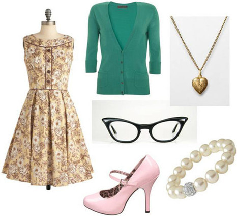 """Movie Inspiration: Fashion Inspired By """"The Help"""" 