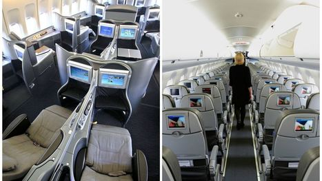 Study: Air rage is more common on flights with first-class cabins | The Internal Consultant - Airlines & Aviation | Scoop.it