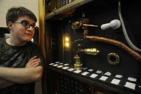 Steampunk as art therapy for the autistic - The Boston Globe | Social Skills & Autism | Scoop.it