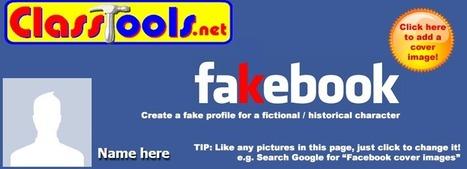 Crea facebook y twitter ficticio para tus estudiantes con classtools | Technologies for teaching | Scoop.it