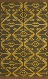 Rugsville Tribal Black Jute & Wool Kilims 13646 Rug - KILIMS | Modern and Contemporary Rugs | Scoop.it