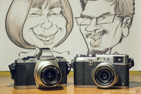 Olympus OM-D E-M5 vs Fujifilm X100s: so similar yet so different! | MirrorLessons | Fuji X-Pro1 | Scoop.it