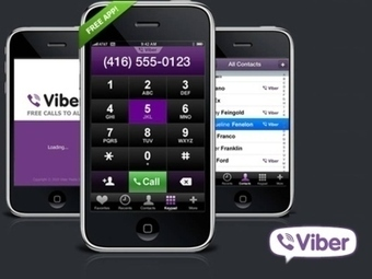 Make Free Calls And Send Free Text Messages With Viber | Mac And Linux | Scoop.it