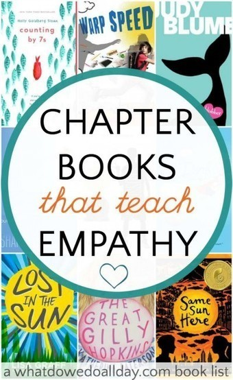 Chapter Books That Teach Empathy | Cool School Ideas | Scoop.it