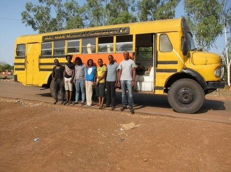 The contemporary art bus travelling from Lagos to Dakar | TRUE Africa | art move | Scoop.it