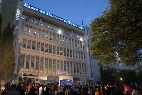 The Greek Government Tried and Failed to Close Their PBS | VICE United States | Indignados e Irrazonables | Scoop.it