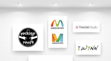 Web 2.0 Logo Design Portfolio by Princepal   Think360studio   Scoop.it