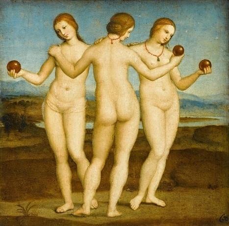 Mitología griega: el mito de las Tres Gracias | Mitología clásica | Scoop.it