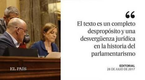 Otro zafio desafío, editorial de El País, 28.07.16 | Diari de Miquel Iceta | Scoop.it