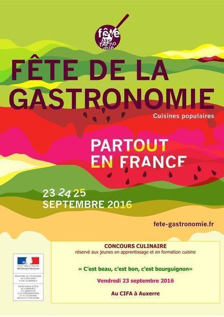 Fête de la Gastronomie 2016 / Evénements / Économie / Economie et emploi / Politiques publiques / Accueil - Les services de l'État dans l'Yonne | Fête de la Gastronomie 23 au 25 sept. 2016 | Scoop.it
