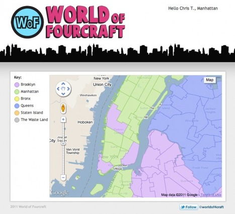 World of Fourcraft pits New York boroughs against each other | Internet Consumer behaviors | Scoop.it
