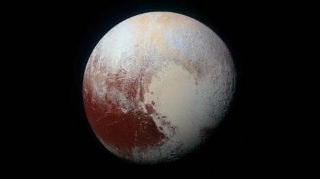 NASA-Sonde New Horizons: Detailliertes Panorama des Pluto in Farbe | Weblese | Scoop.it