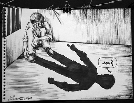 Jailed by Israel for his cartoons, Mohammad Saba'aneh speaks out #CharlieHebdo | Saif al Islam | Scoop.it