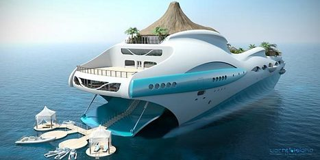 Can't Decide Between a Private Island or a Mega-Yacht? Get Both in One : Discovery Channel | Urban Design | Scoop.it