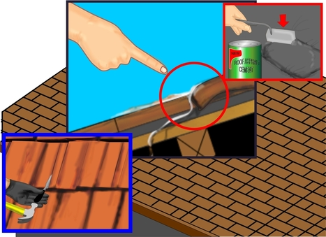 How to Repair a Leaking Roof | Roofing Repair Tips for Your Home here in Stockbridge | Scoop.it