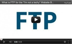 "What is [and how to use] FTP for the ""I'm not a techy"" Beginner [VIDEO] 