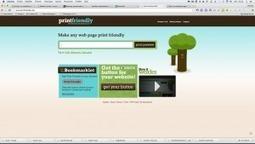 Print friendly: enregistrer n'importe quelle page web en pdf depuis votre navigateur – Le coutelas de Ticeman | François MAGNAN  Formateur Consultant | Scoop.it