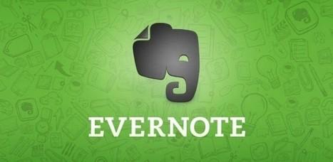 Evernote se actualiza con nuevos widgets y mejora en los recordatorios   Ticenelaula   Scoop.it
