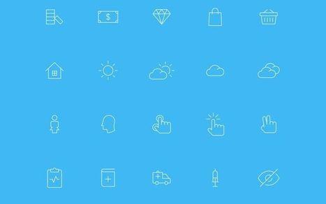 Nanoline Icons: 200 iconos vectoriales gratuitos para descargar | Information Technology & Social Media News | Scoop.it