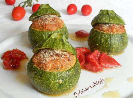 Zucchine tonde ripiene - Dolcissima Stefy - Benvenuti nella mia cucina | cupcake maniac | Scoop.it