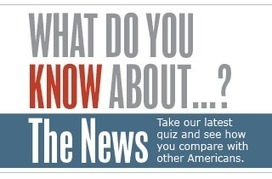 The News IQ Quiz | Pew Research | Public Relations & Social Media Insight | Scoop.it