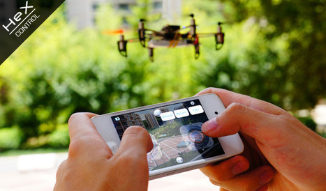Hex, a customizable smartphone-controlled nanocopter! | sUAS News | SecureOil | Scoop.it