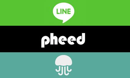 3 réseaux sociaux à surveiller pour les marques : Line, Pheed et Jelly | Initia3 - Conseils numériques TPE - PME | Scoop.it