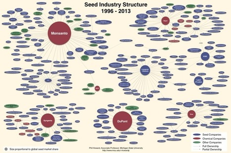 The Industrial Food Chain starts with Monsanto seeds | Seed Savers | Agroindustria Sostenible | Scoop.it