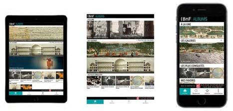 BnF Albums : les collections sortent sur application mobile | Veille Offre Légale | Scoop.it