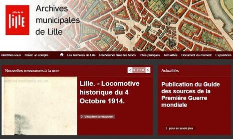 Les archives municipales de Lille en ligne !   Nos Racines   Scoop.it