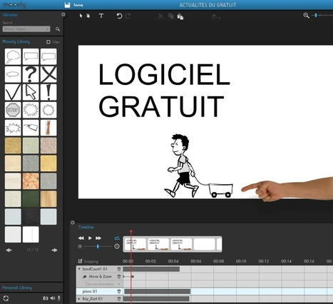 Logiciel professionnel gratuit Web 2.0 Moovly 2013 Creation de Videos et Présentations professionnelles | marketing | Scoop.it