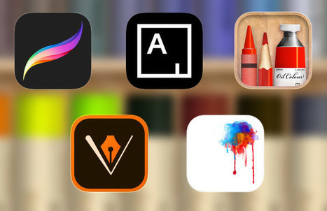 5 The Best iPhone Apps For Budding Digital Artists | | All About Apple iPhone,Mac Book,Apple Watch | Scoop.it