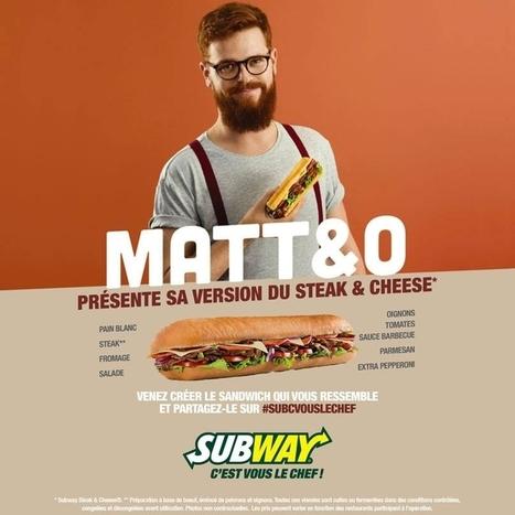 Subway veut grossir sur le marché tricolore | marketing digital | Scoop.it