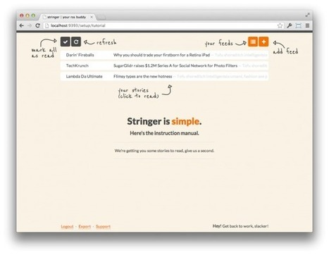 Stringer: Open Source Self-Hosted RSS Reader - WP Daily | Raspberry Pi | Scoop.it