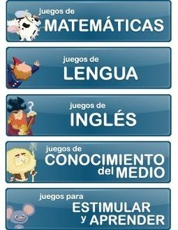 Juegos de lenguaje y lengua para niños de primaria | Español lengua extranjera. ELE | Scoop.it