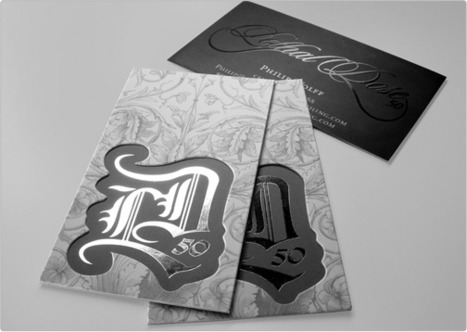 Black Metal Business Cards   Give Your Brand the Edge   Metal Business Card   Scoop.it
