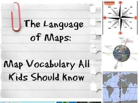 Map Terms Kids Should Know About | 21st Century skills | Scoop.it
