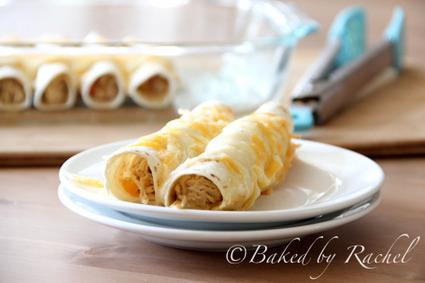 White Chicken Enchiladas | Baked by Rachel | À Catanada na Cozinha Magazine | Scoop.it