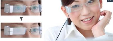 Gafas que 'parpadean' para que los ojos puedan descansar | Salud Visual 2.0 | Scoop.it
