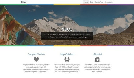 NEPAL - A Free WordPress Theme from Blog Oh! Blog | Free & Premium WordPress Themes | Scoop.it