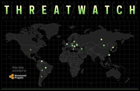 Threatwatch : Data Map of World Data Breaches | Education & Numérique | Scoop.it