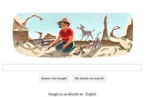 Mary Leakey, la Indiana Jones femenina, en el doodle de Google   Social Comunications Today   Scoop.it