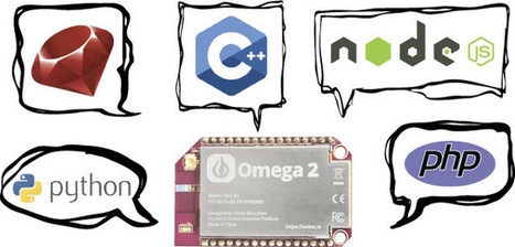 Onion Omega2 is a $5 Linux WiFi IoT Board (Crowdfunding) | Embedded Systems News | Scoop.it