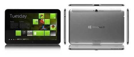 MWC 2013 : ZTE dévoile la V98, une tablette sous Windows 8 | mlearn | Scoop.it