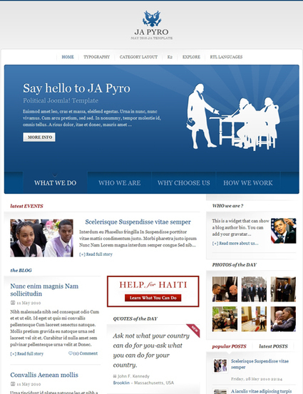 Joomla Template - JA Pyro - Blog tin tức | Share code web | Scoop.it